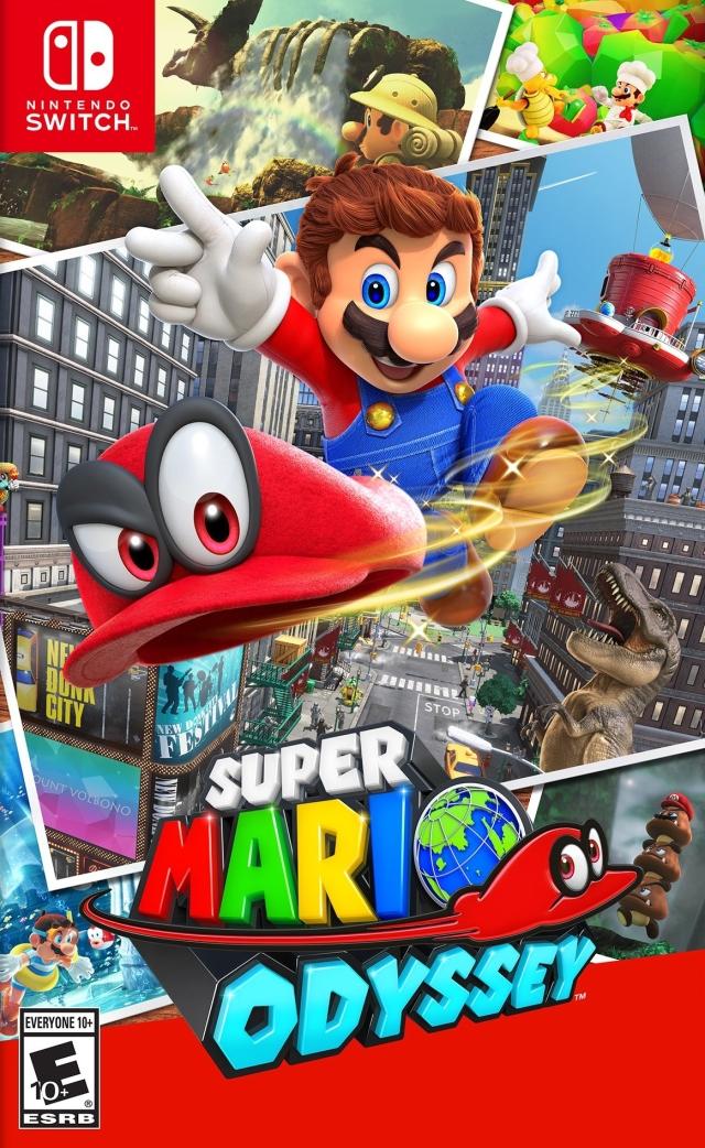 Super Mario Odyssey 2017 Game