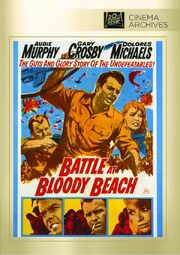 1961 - Battle at Bloody Beach DVD Cover (2013 Fox Cinema Archives)