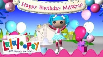 Mittens Fluff 'n' Stuff Birthday We're Lalaloopsy Now Streaming on Netflix!