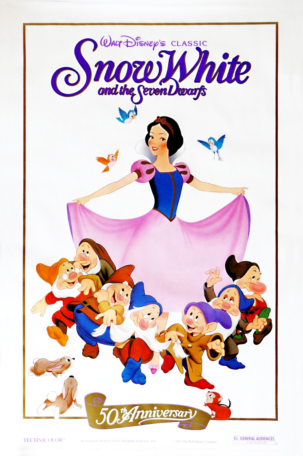 snow white and the seven dwarfs previews 1989 print scratchpad