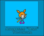 10) Ana (WarioWare. Portfolio Cartoon)