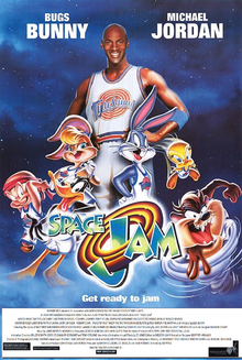 Space Jam (1996) Poster 2