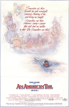 An American Tail 1997 Re-Release Poster