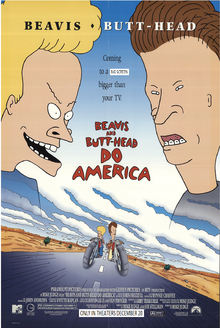 Beavis And Butt-Head Do America (1996) Theatrical Poster