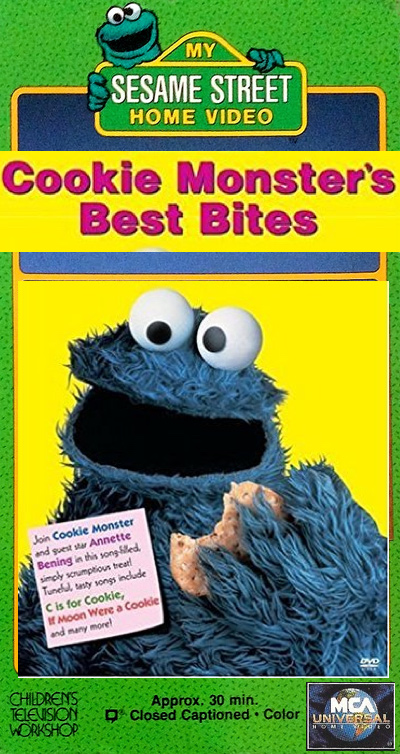 Opening To My Sesame Street Home Video: Cookie Monster's ...