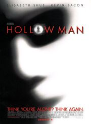 2000 - Hollow Man Movie Poster