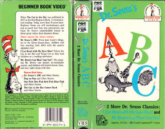 Opening To Dr Seuss S Abc Beginner Book Video 1989 Vhs