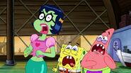 Mindy, SpongeBob, And Patrick Screaming