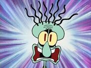 Screaming squidward