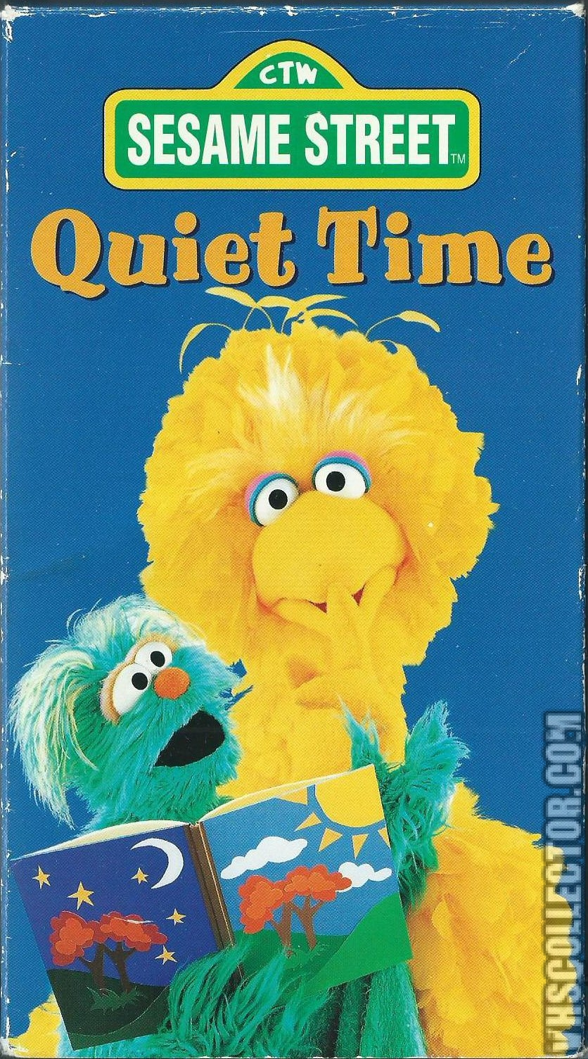 opening to sesame street quiet time 1997 vhs columbia