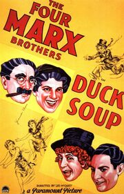 1933 - Duck Soup Movie Poster