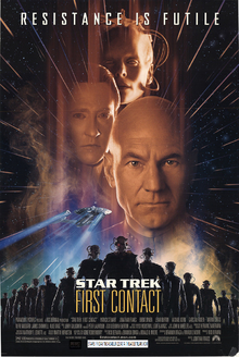 Star Trek First Contact (1996) Theatrical Poster
