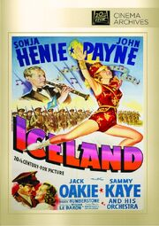 1942 - Iceland DVD Cover (2013 Fox Cinema Archives)