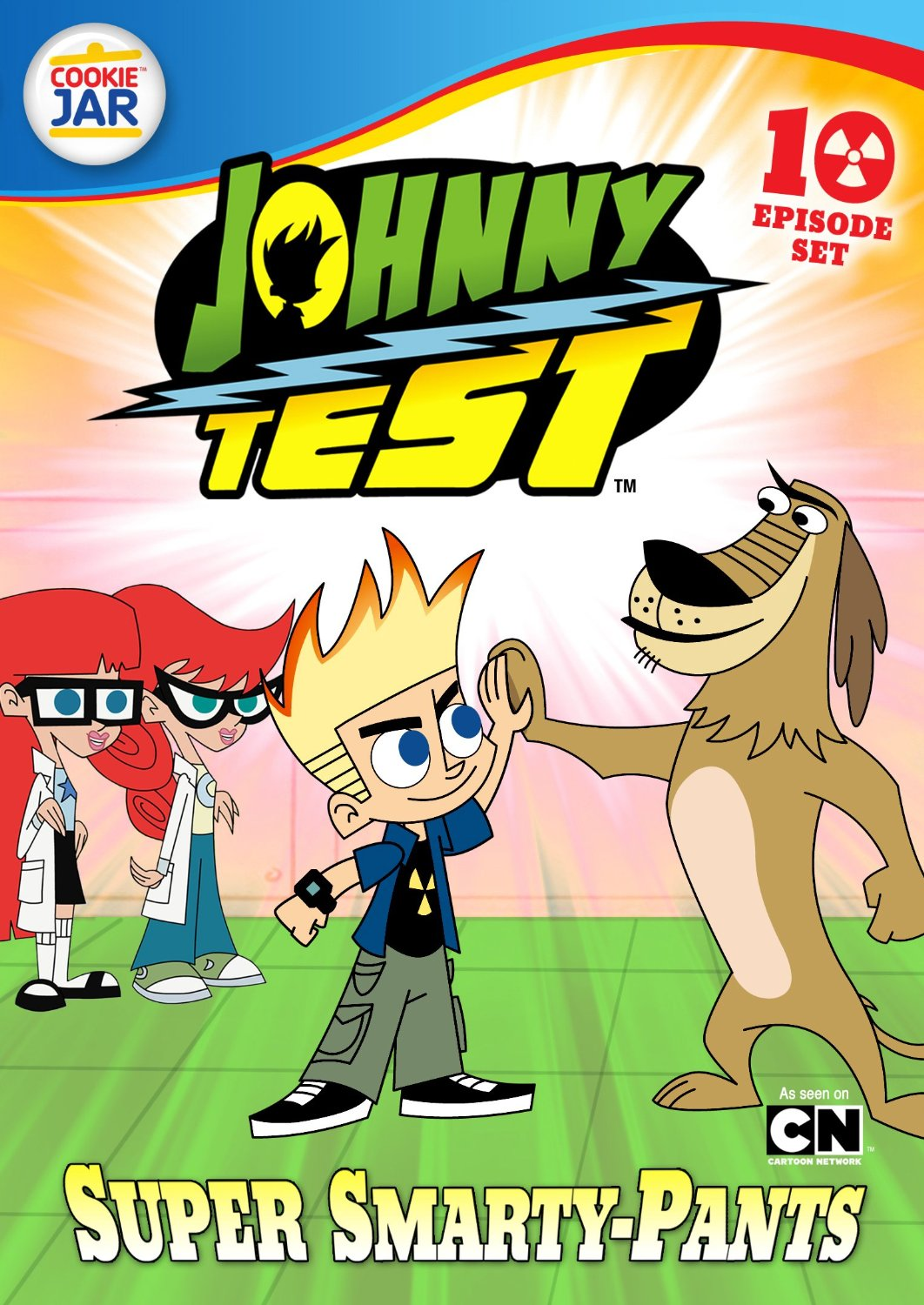Opening To Johnny Test Super Smarty Pants 2013 Dvd Scratchpad