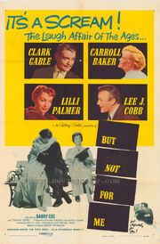 1959 - But Not for Me Movie Poster