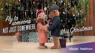 Heathrow Bears Christmas TV Advert - HeathrowBears