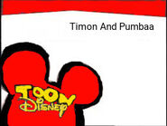 Toon Disney Timon And Pumbaa Bumper 2004