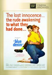 1959 - Blue Denim DVD Cover (2016 Fox Cinema Archives)