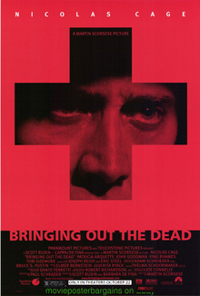 Bringing Out The Dead (1999) Poster