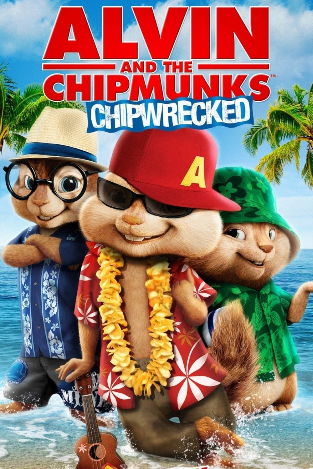 opening to alvin and the chipmunks: chipwrecked 2003 vhs