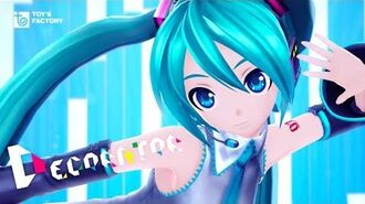 Livetune feat. Hatsune Miku「DECORATOR」Music Video