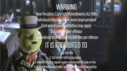 Roadshow Warning Screen (with The Muppet Christmas Carol movie)