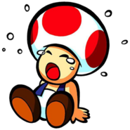 Toad crying