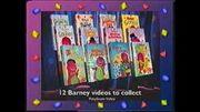 Barney Videos Promo UK