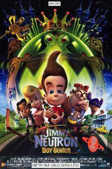 Jimmy Neutron Boy Genius (2001) Poster