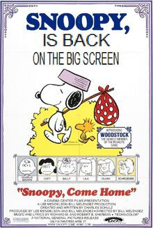 Snoopy Come Home 2002 Re-Release Poster