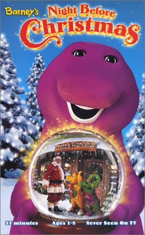 Opening To Barney's Night Before Christmas 1999 VHS (Fake Version ...