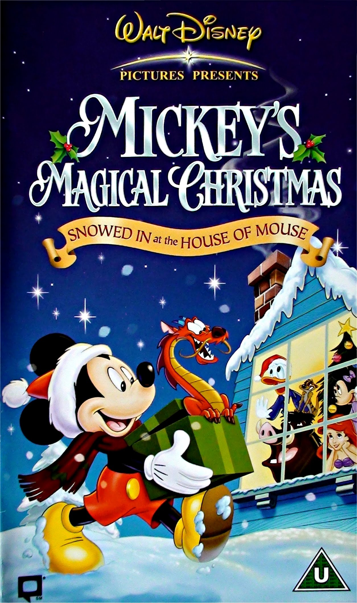 opening to mickeys magical christmas snowed in at the