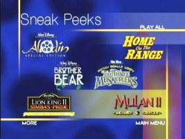 Sneak Peeks From The Lion King 1 2 2004 DVD Fake Version
