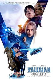 2017 - Valerian and the City of a Thousand Planets Movie Poster 2