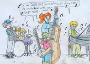 Bancy jazz band by jose ramiro-da5b18u