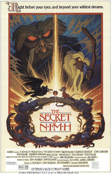 The Secret Of Nimh 1996 Re-Release Poster