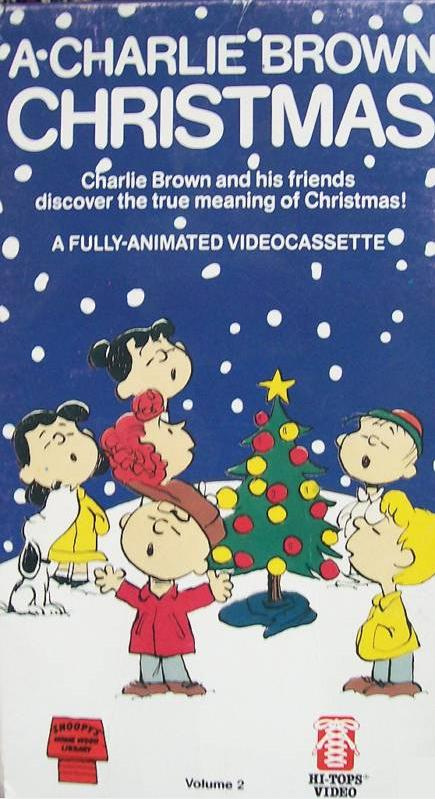 A Charlie Brown Christmas Vhs.Opening To A Charlie Brown Christmas 1986 Vhs Mca Home