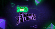 Disney XD Toons 31 Nights of Halloween Promo 2019