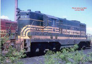 The Saga of Locomotive 574 GP-7 574