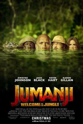 2017 - Jumanji Welcome to the Jungle