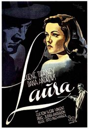 1944 - Laura Movie Poster -2