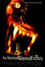 1997 - An American Werewolf in Paris Movie Poster