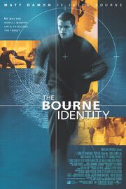 2002 - The Bourne Identity Movie Poster