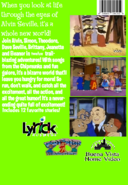 The Bizarre World of Weird Munk Mishap VHS back cover