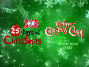 Disney XD Toons 25 Days Of Christmas The Muppet Christmas Carol Promo (2018)