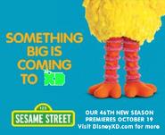 Sesame Street season 46 Disney XD poster