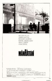 1979 - Manhattan Movie Poster
