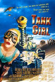 1995 - Tank Girl Movie Poster