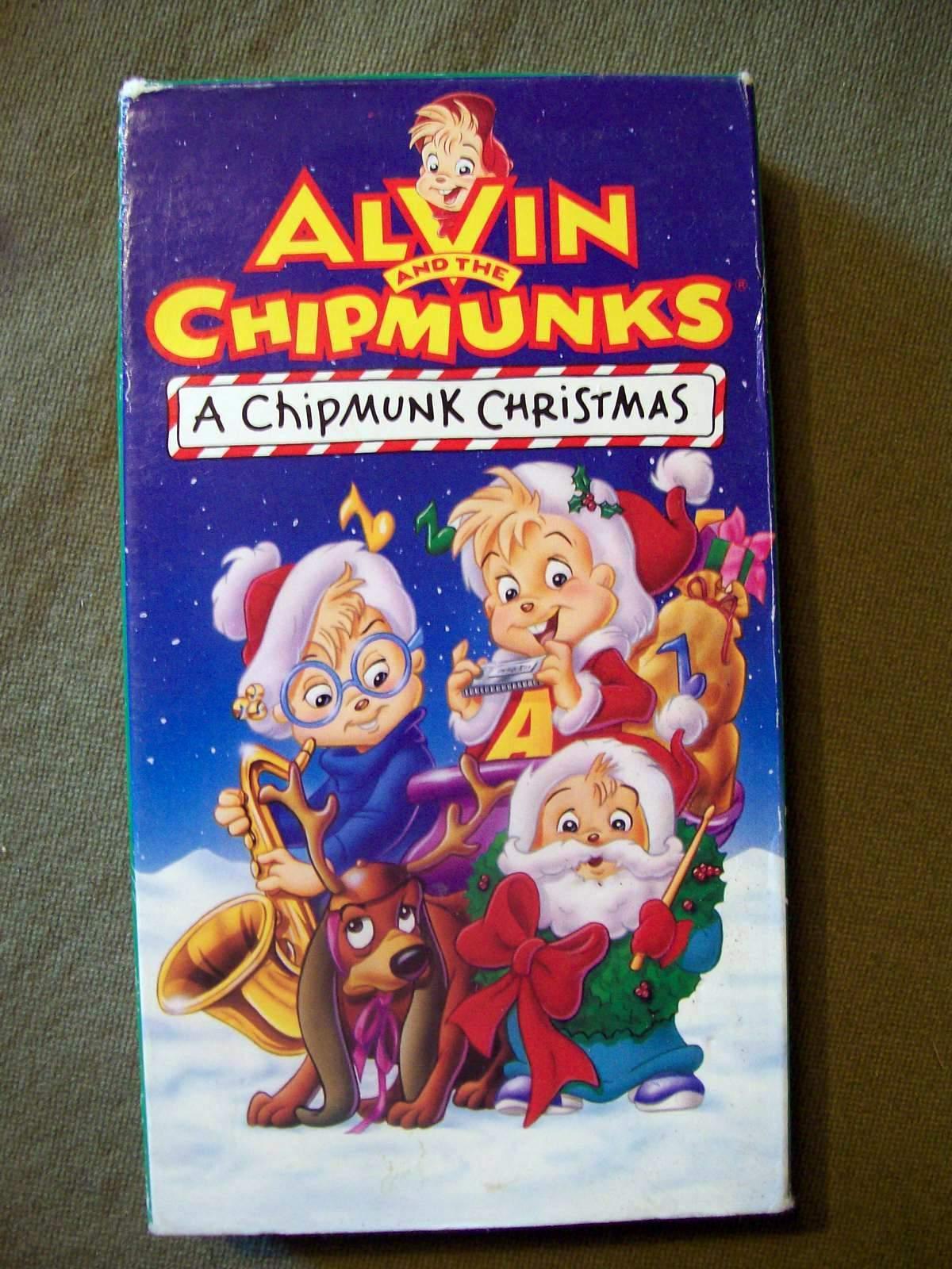 Image - A Chipmunk Christmas VHS.jpg   Scratchpad   FANDOM powered ...