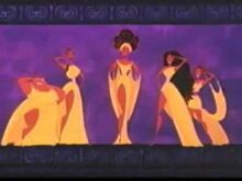 Muses from Hercules Spanish Preview
